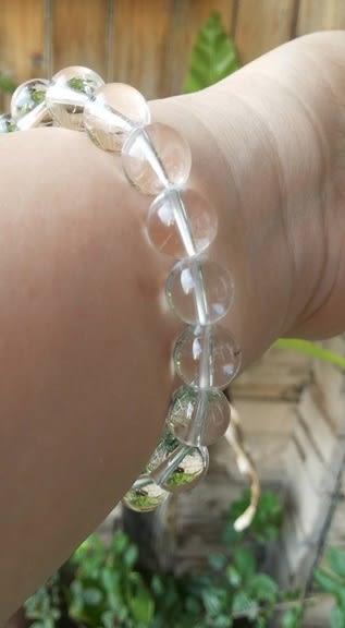 手鍊 Sabrina C. 天然白色水晶10mm