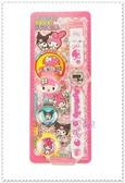 小花花日本精品♥ Hello Kitty 美樂蒂&酷洛米 草莓 小花 蝴蝶結 電子錶附3款錶蓋 99912604