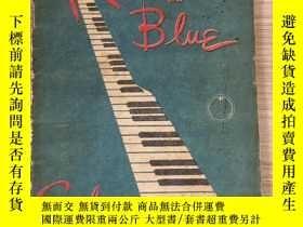 二手書博民逛書店1947年日本出版《藍色狂想曲-Rhapsody罕見in Blue》電影畫冊,該電影由美國華納兄