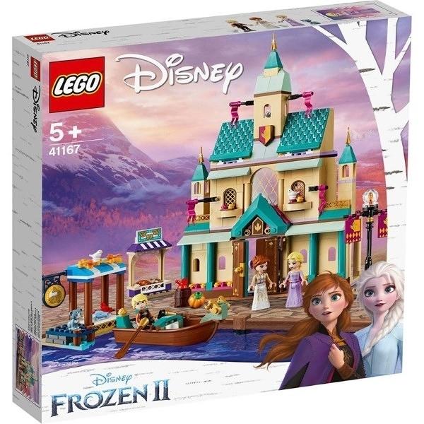 【LEGO樂高】DISNEY PRINCESS 冰雪奇緣 冰雪奇緣2 FROZEN2 艾倫戴爾城堡村莊 #41167