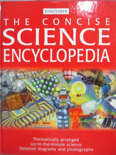 【書寶二手書T9/百科全書_XFZ】The Concise Science Encyclopedia_unknown