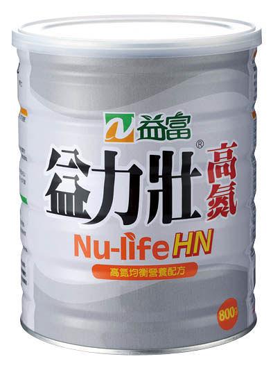 益富_ 益力壯 沖泡式高氮營養配方  800g X12罐