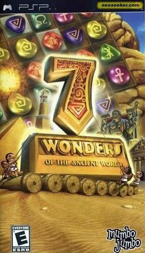 PSP 7 Wonders of the Ancient World 七大奇蹟的古代世界(美版代購)