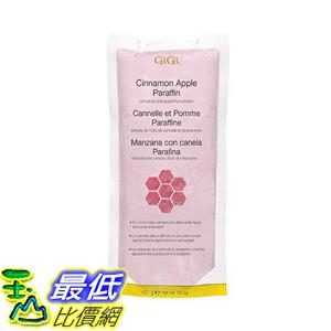 [8美國直購] Gigi GG-877 Paraffin Wax, Cinnamon Apple, 16 Ounce 蜜蠟護手 巴拿芬蠟 蘋果肉桂味