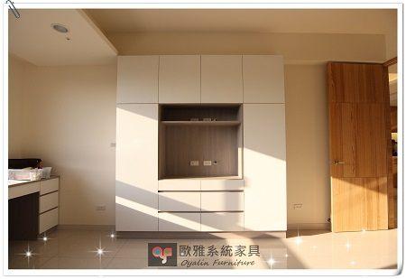 【歐雅系統家具】系統家具 /全室規劃/免費規劃丈量『主臥室-系統綜合多功能收納櫃』