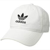Adidas- 愛迪達男原創休閒現代帽(白色)