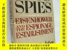 二手書博民逛書店IKE S罕見SPIES:Esienhower and the