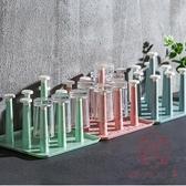 2個裝 杯子架晾杯架置物玻璃托盤放茶杯咖啡掛架收納【櫻田川島】