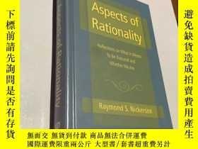 二手書博民逛書店aspects罕見of rationality(理性的各個方面)Y237539 Raymond press