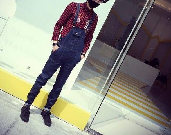 【找到自己】 現貨牛仔吊帶褲 高品質系列 丹寧吊帶褲 連身裝 男 男吊帶褲 JP