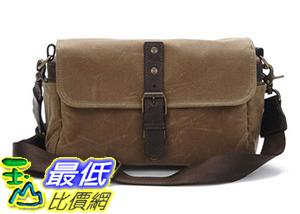 [106美國直購] ONA - The Bowery - Camera Messenger Bag - Field Tan Waxed Canvas (ONA5-014RT)