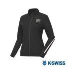 K-SWISS Jersey Jacket 韓版運動外套-女-黑