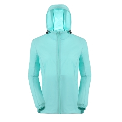 La proie 女式輕薄彈力風衣(基礎款)-天池綠