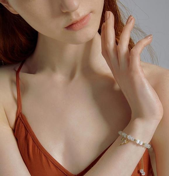 手鏈女小眾設計簡約冷淡風氣質韓版小鹿手飾【聚寶屋】