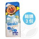 日本境內限定Genki! 麵包超人褲型尿布XXL【箱購26片x3包】【佳兒園婦幼館】