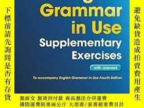 二手書博民逛書店English罕見Grammar in Use Supplementary Exercises with Answ