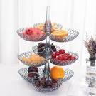 怡點創意網紅可疊加多層水果盤客廳家用干果...