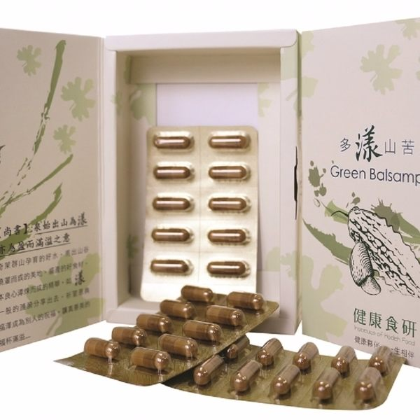 【奇萊美地】多漾山苦瓜1盒(每盒50粒,每粒500MG)(免運)