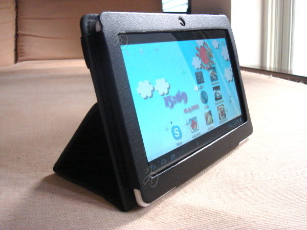 全志Allwinner AW A13 CPU 7吋平板智慧MP5專用 皮套 立架二合一LTP OPAD Dream Pad IS愛思TEKXON JSmax 彩色玩伴II