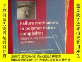 二手書博民逛書店Failure罕見Mechanisms in Polymer M