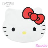 日本毛巾-Sanrio三麗鷗Kitty大頭造型小方巾-玄衣美舖