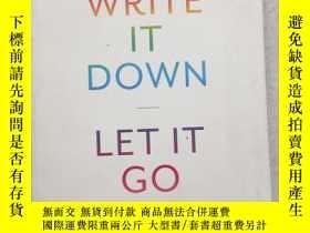 二手書博民逛書店Write罕見it Down, Let it Go: A Wor