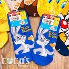 華納 樂一通系列 大嘴怪兔巴哥翠迪鳥 短襪 造型襪 襪子 直版襪 A款 COCOS SO040
