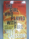 【書寶二手書T1/原文小說_GBO】The Girl Who Played With Fire_Larsson, Stieg