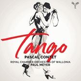 【停看聽音響唱片】【CD】探戈 帕斯卡.康特 手風琴 保羅.梅耶 指揮 (比利時)瓦隆皇家室內樂團