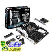 [美國直購 二手良品主機板] ASUS ATX DDR4 3000 LGA 2011-3 Motherboards X99-DELUXE/U3.1