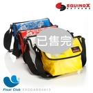 【零碼特賣】EQUINOX浪花防水趴趴包 郵差包 防水袋 斜肩 側背 休閒防水 防潑水 防水桶包