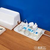 電線收納盒 電源線插線板充電器電腦線網線整理盒 插座插排集線盒   電購3C