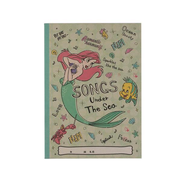 【震撼精品百貨】The Little Mermaid Ariel小美人魚愛麗兒~俏皮生活系列B5膠裝筆記本(小美人魚)