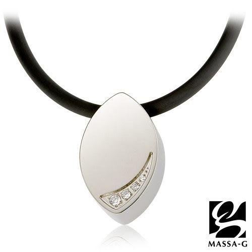 晶點‧瑟蕾娜 時尚晶點 鍺鈦項鍊  MASSA-G LJ 純鈦系列