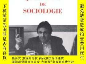 二手書博民逛書店Questions罕見De Sociologie (documents)Y364682 Pierre Bour