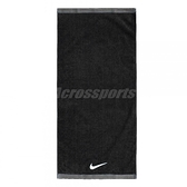 Nike 毛巾 Fundamental Towel 黑 白 Logo 棉 運動休閒【ACS】 NET1701-0MD