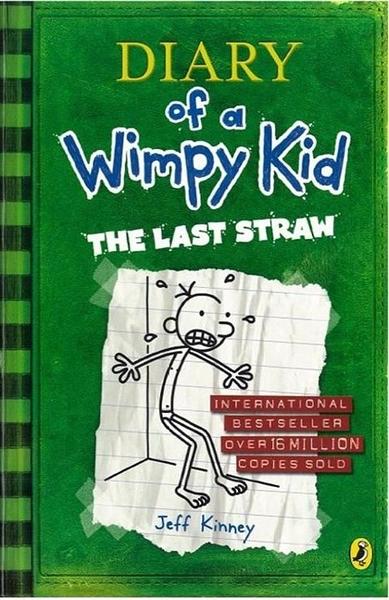 (二手書)Diary of a Wimpy Kid #3: The Last Straw (International edition)