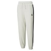PUMA Classics 女款白色寬鬆長褲-NO.53028205