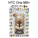 迪士尼透明軟殼 [新點點] 奇奇 HTC One M9+ (M9 Plus)【Disney正版授權】