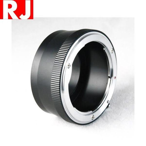 又敗家@ RJ尼康Nikon轉M4/3轉接環(非電子,Nikkor鏡頭轉接到Micro Four Thirds機身)Nikon-M43轉接環