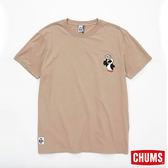 CHUMS 日本 男 LIKE 短袖T恤 卡其 CH011233B023