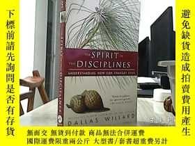 二手書博民逛書店The罕見Spirit of the Disciplines : Understanding How God Ch