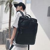 後背包 雙肩包 男士背包 正韓學生書包 潮流男包 時尚休閒旅行包 皮電腦包