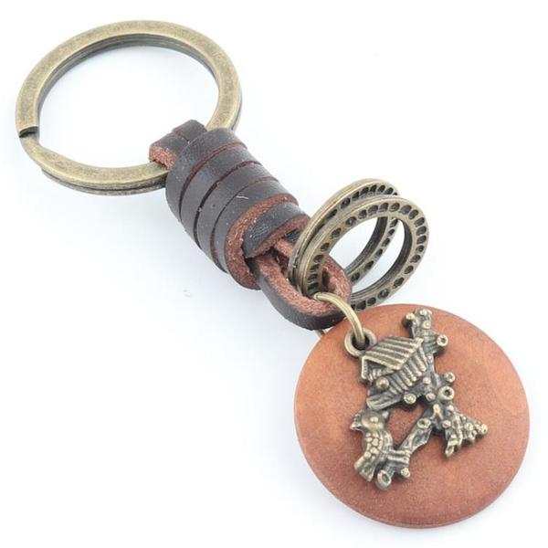 【鳥巢鑰匙扣】創意汽車鈴鐺小掛件可愛包包鑰匙圈女