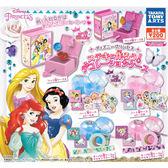 全套6款【日本正版】迪士尼公主 裝飾珠寶盒 扭蛋 轉蛋 長髮公主 小美人魚 白雪公主 - 864032