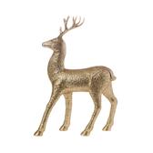 金色鹿擺飾31.5cm
