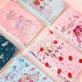 筆記本  日繫卡通可愛流沙記事本少女心日記本筆記本日程計劃  瑪奇哈朵