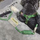 牽引繩胸背帶牽引繩圓繩套裝寵物狗繩狗鏈子...