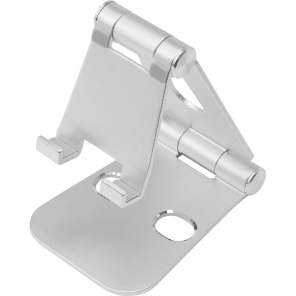 【玩樂小熊】現貨中 Switch主機 NS CYBER 主機用 角度自由 鋁製折疊立架 銀色款