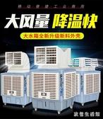 220V商用移動工業冷風機 大水箱水冷空調網吧工廠車間商用單制冷風扇 zh5579 『美好時光』